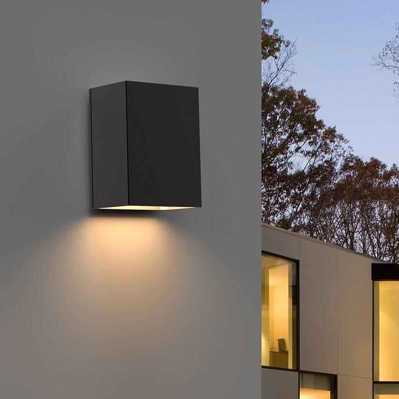 sonneman Box LED Sconce outdoor