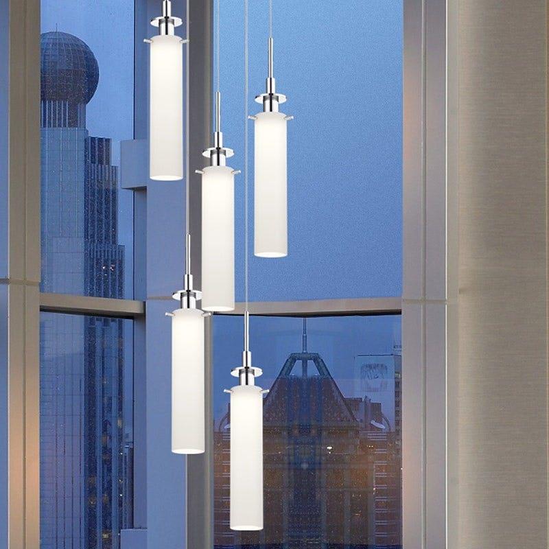 sonneman Candle Plus LED Pendant dining room