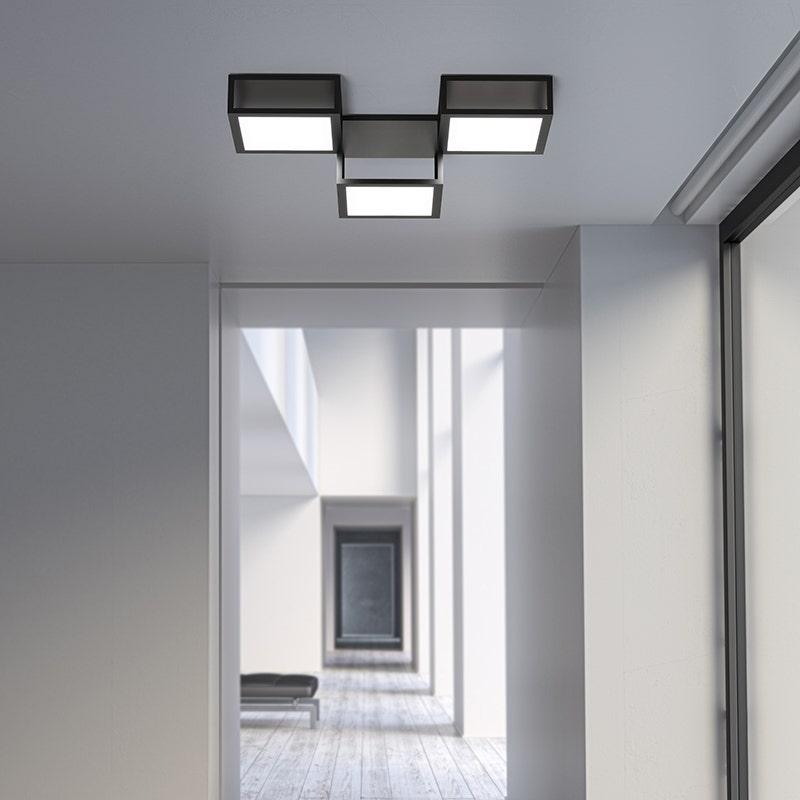 Sonneman Cubix Surface Mount Livingroom
