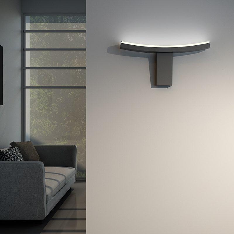 sonneman Dao LED Wall Torchiere hallway