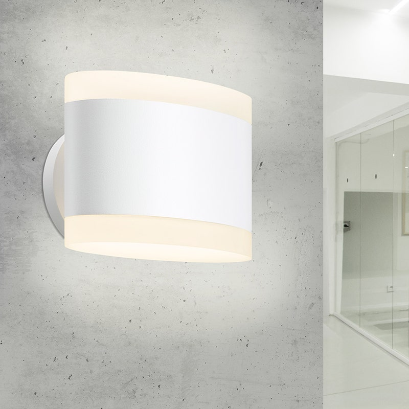 sonneman Ellipses LED Sconce hallway