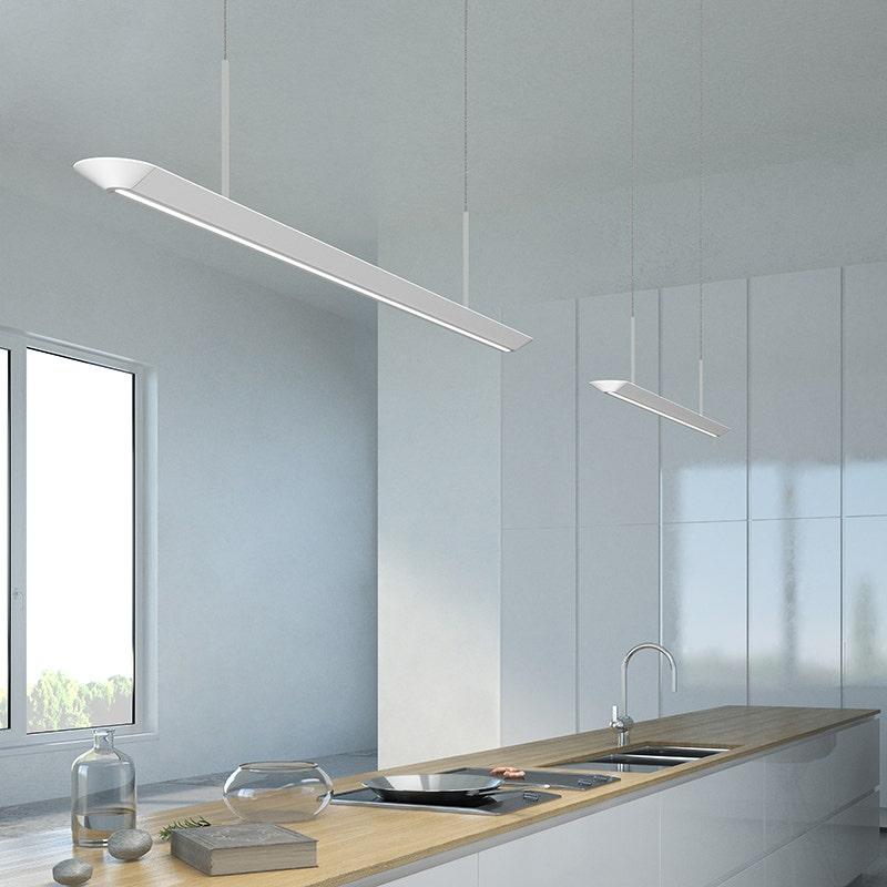 sonneman Glide LED Pendant w/Downlight kitchen