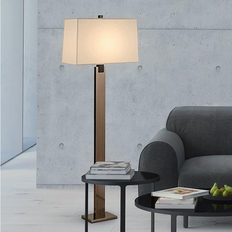 sonneman Monolith Floor Lamp living room