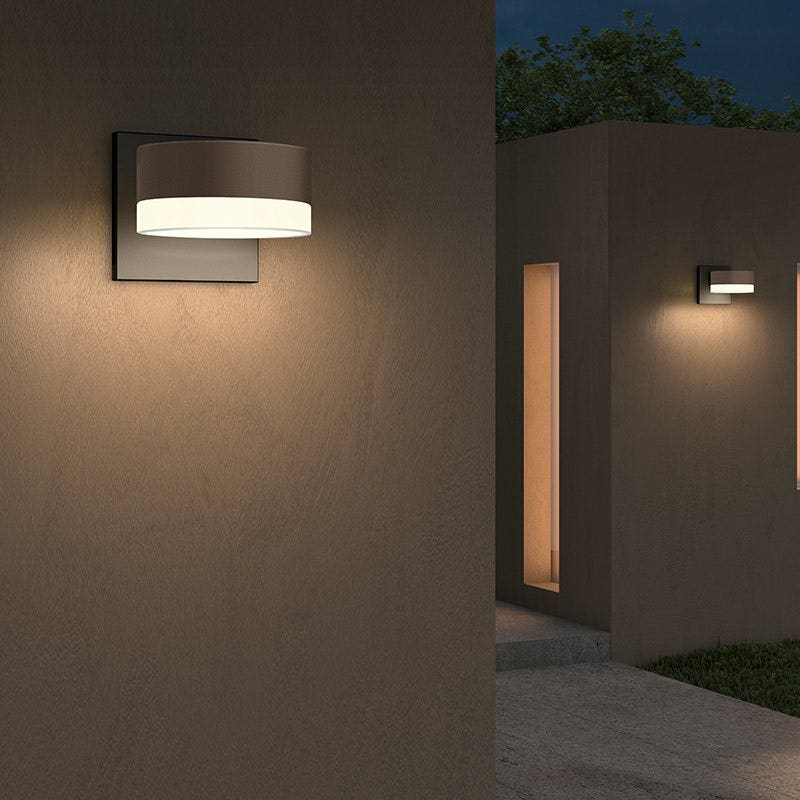 Sonneman REALS Downlight LED Sconce Outdoor