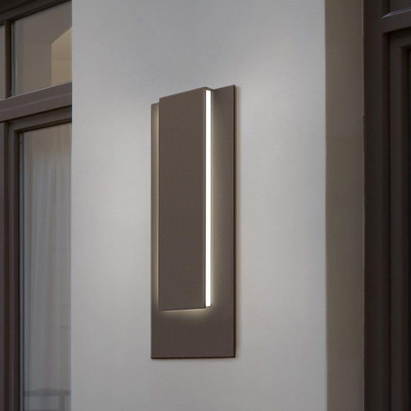 sonneman Reveal Tall LED Sconce foyer