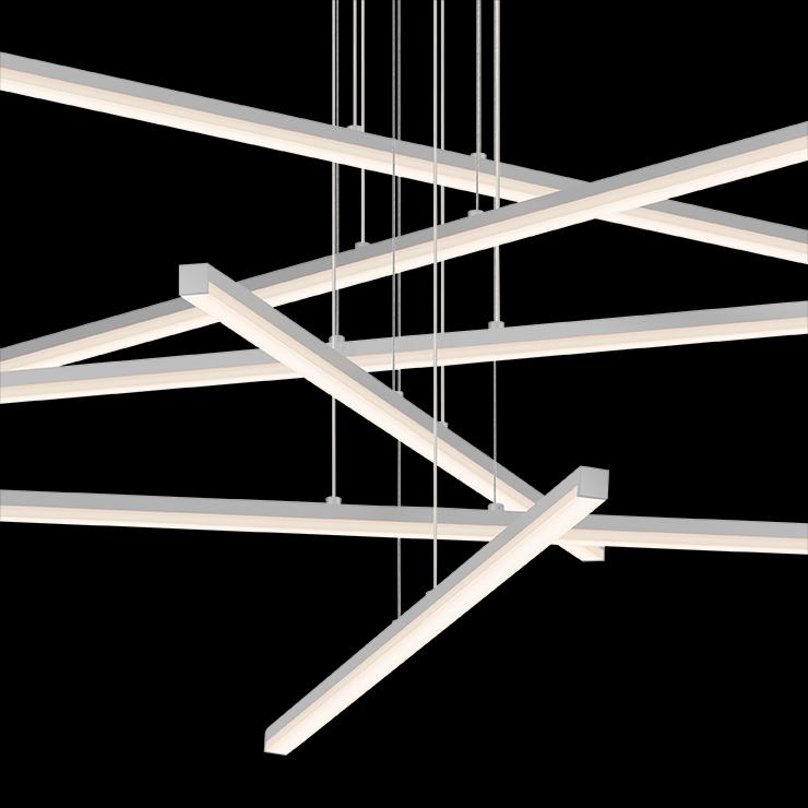 Sonneman Stix LED Pendant living room