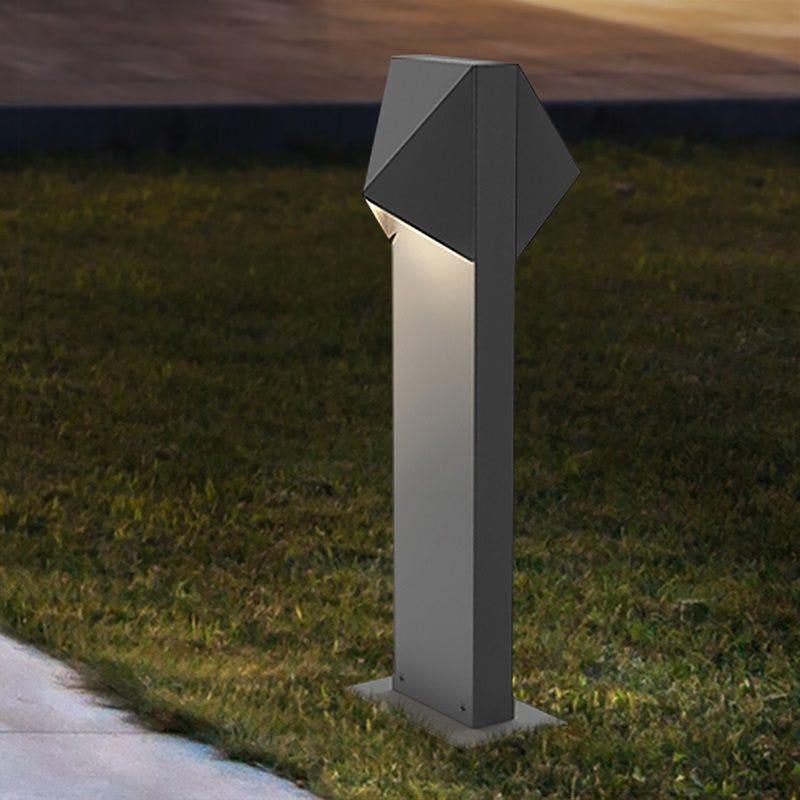 SONNEMAN Triform Compact LED Double Bollard outdoor