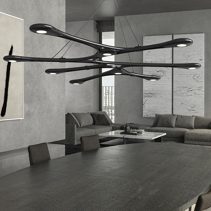 sonneman Abstraction LED Pendant office