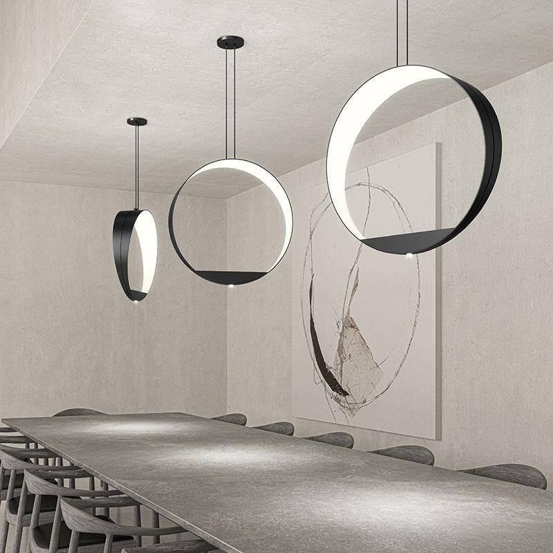 sonneman Aureola LED Pendant dining