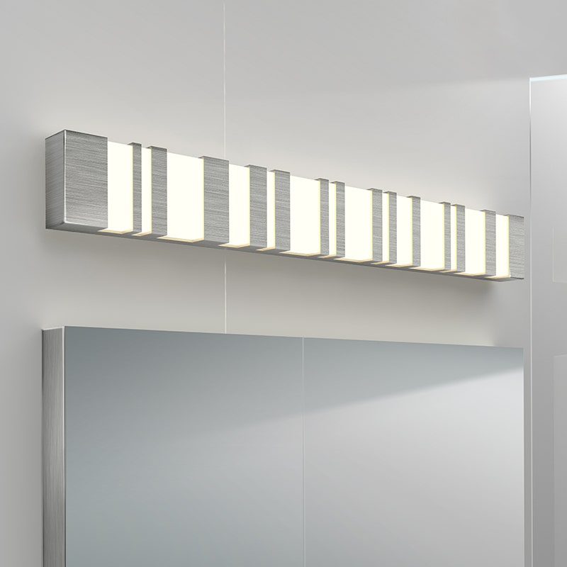 sonneman Bath Notes LED Bath Bar bathroom