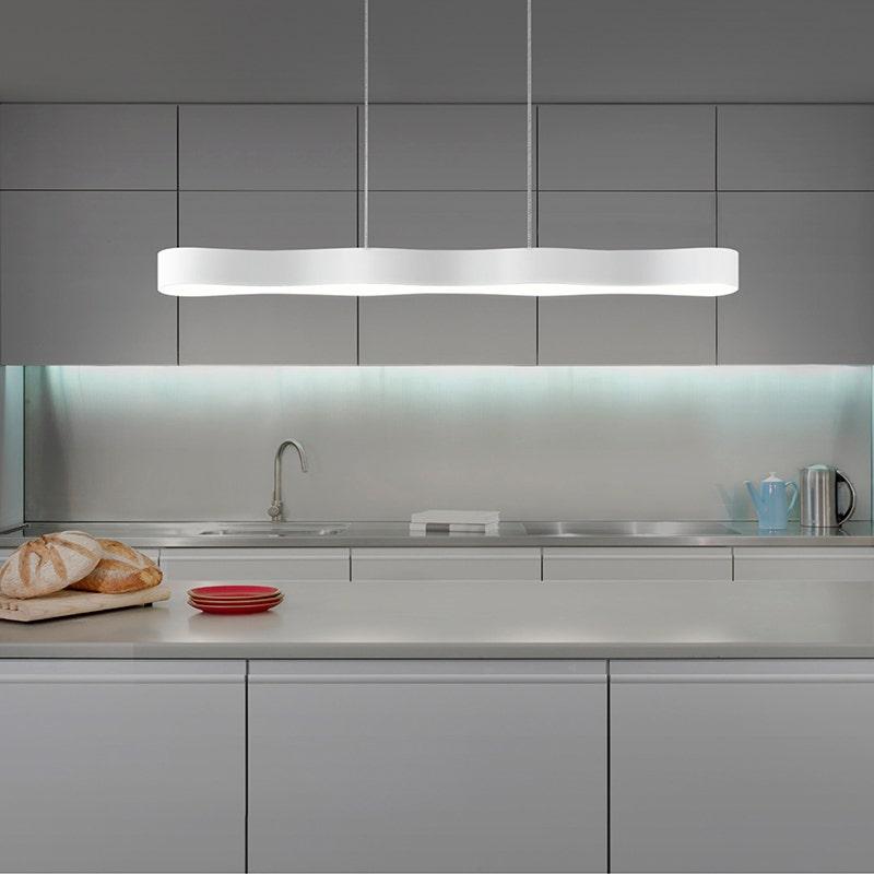 sonneman Corso Linear LED Pendant kitchen