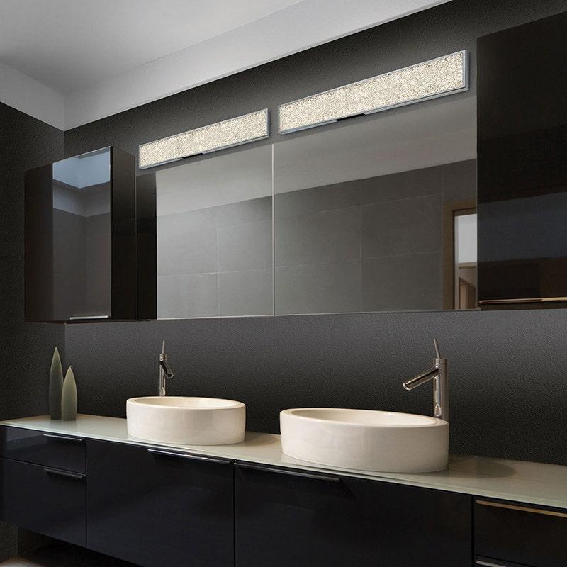 sonneman Dazzle LED Bath Bar bathroom