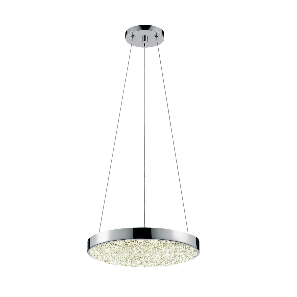 sonneman Dazzle LED Pendant dining room