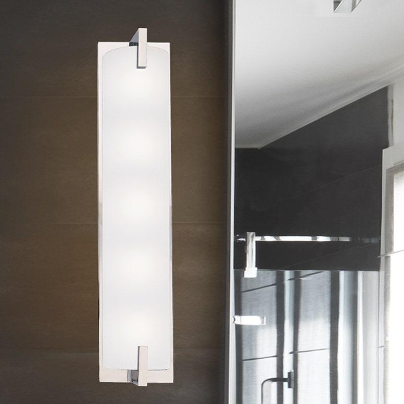 sonneman Edge Bath Bar bathroom