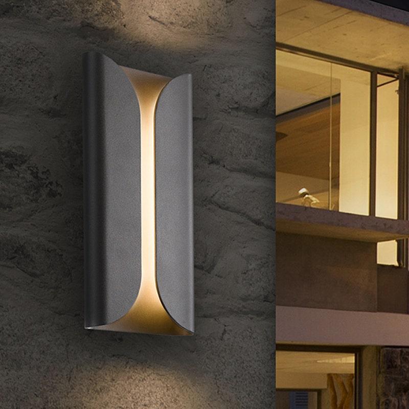 sonneman Folds LED Sconce outdoor