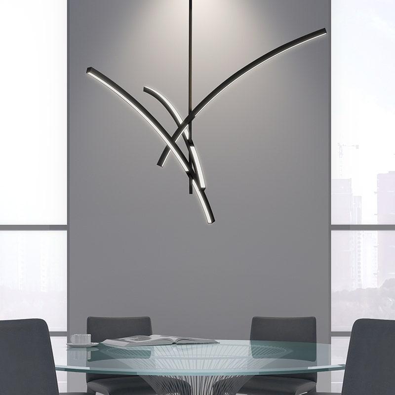 sonneman Gestures 3-Arm LED Pendant hospitality