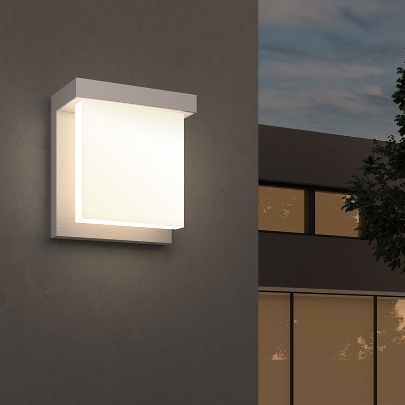 sonneman Glass Glow LED Sconce outdoor