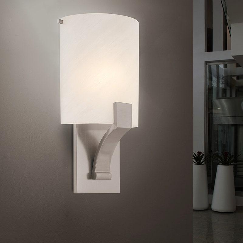 sonneman Greco Fluorescent Sconce hallway