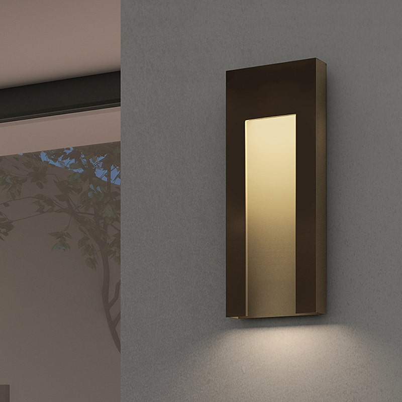 sonneman Inset Tall LED Sconce outdoor