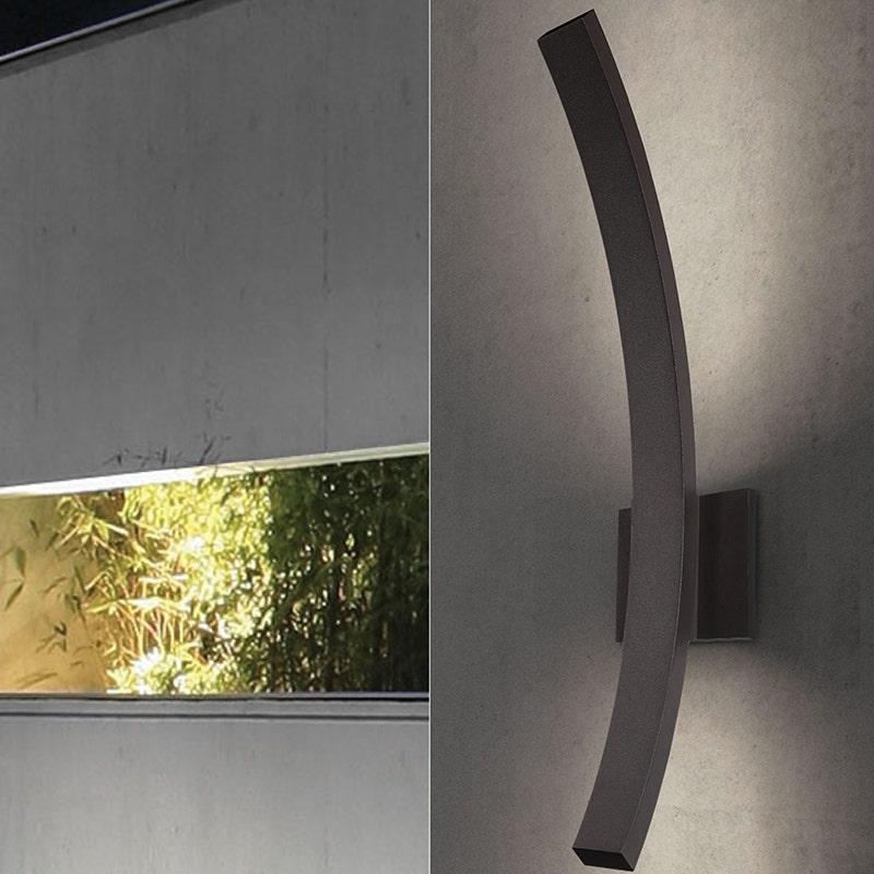 sonneman L'Arc Grand LED Sconce outdoor