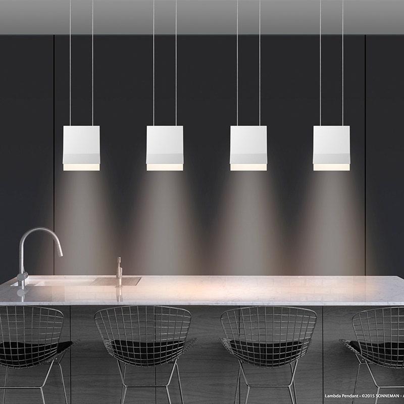 sonneman Lambda LED Pendant kitchen