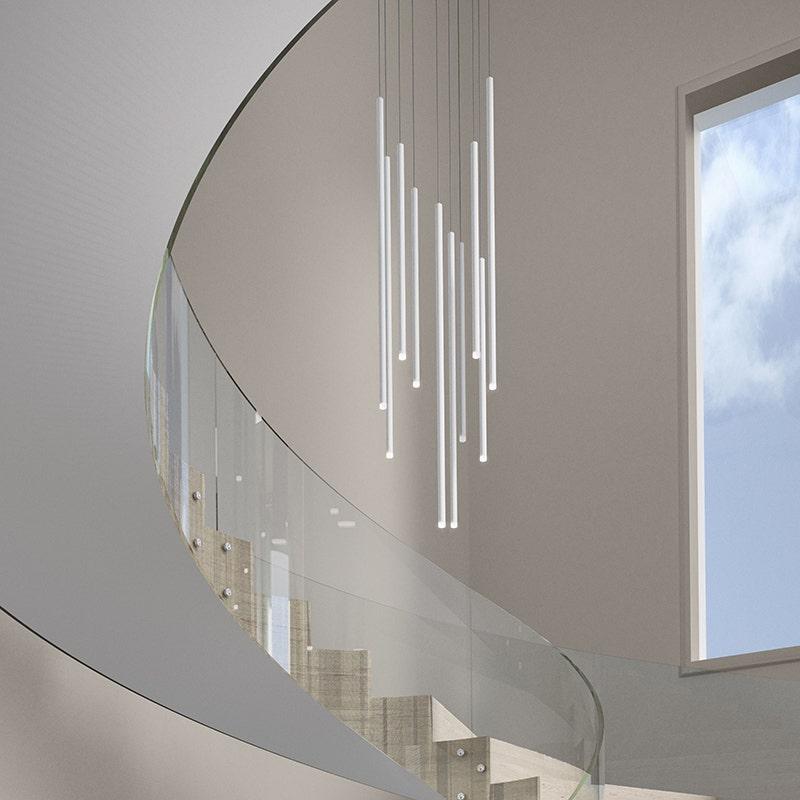 sonneman Light Chimes LED Pendant stairway