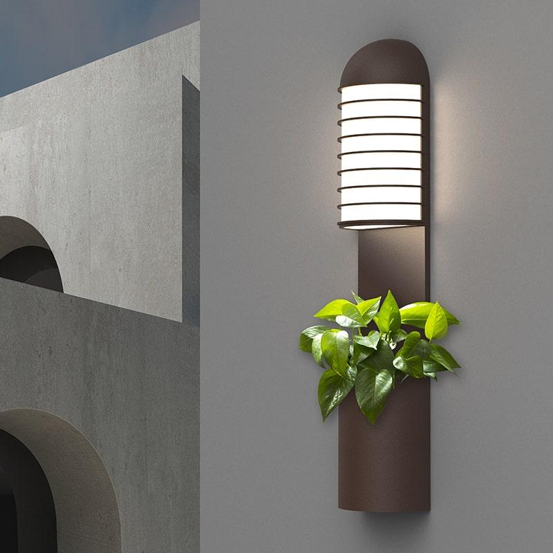 sonneman Lighthouse LED Planter Sconce outdoor