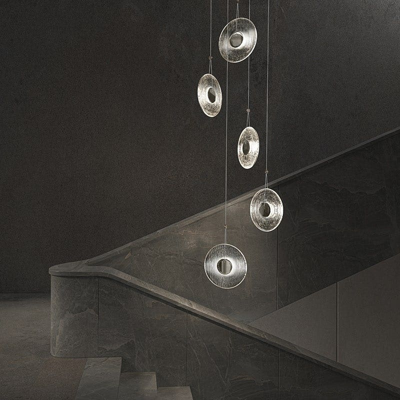 sonneman Meclisse LED Pendant Stairway