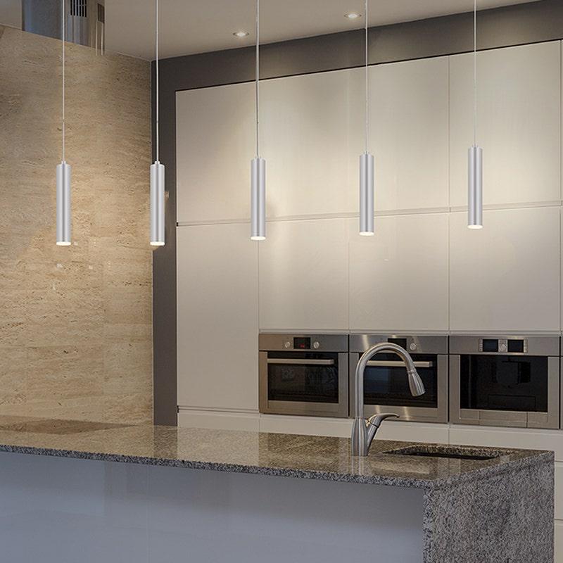 sonneman Micro Tube LED Pendant kitchen