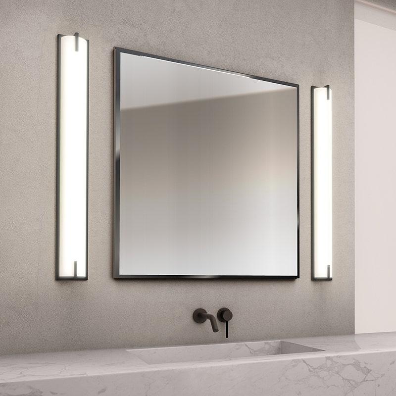 sonneman New Edge Bath Bar bathroom