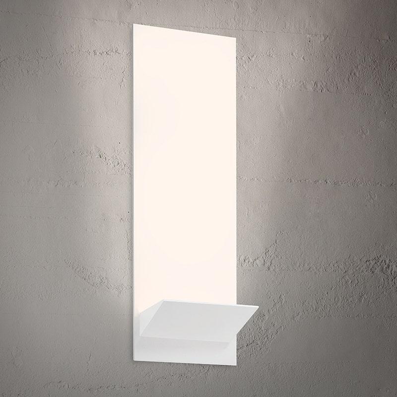 sonneman Panel Wedge LED Sconce dining