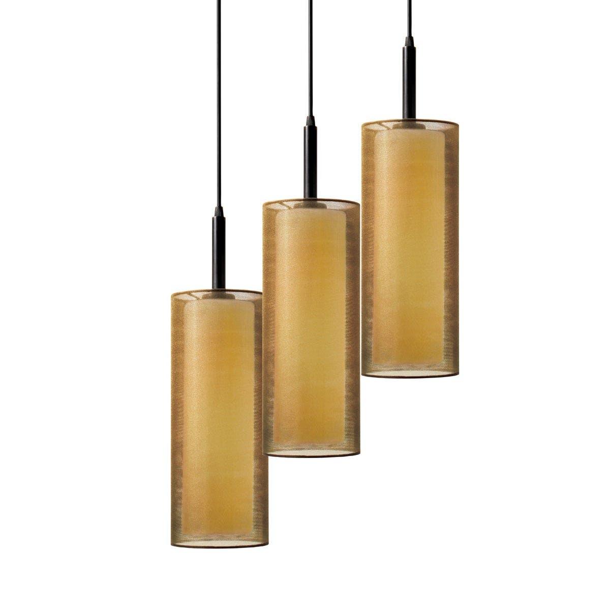 sonneman Puri 3-Light Pendant Dining Room