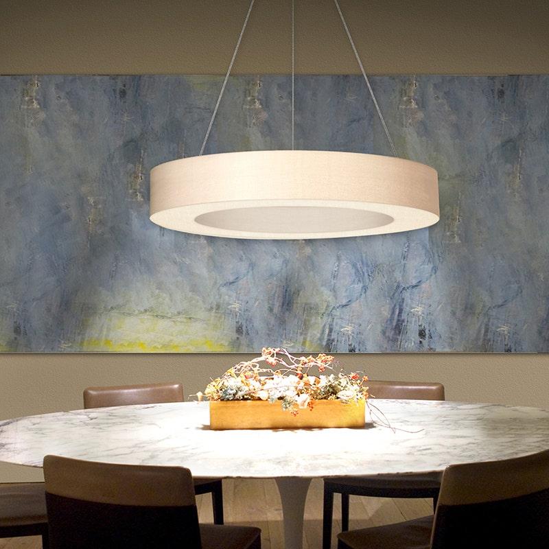 sonneman Ring Shade LED Pendant dining