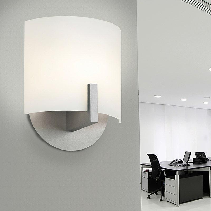 sonneman Scudo LED Sconce office