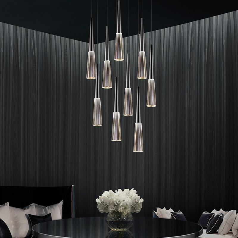 sonneman Spire LED Pendant dining