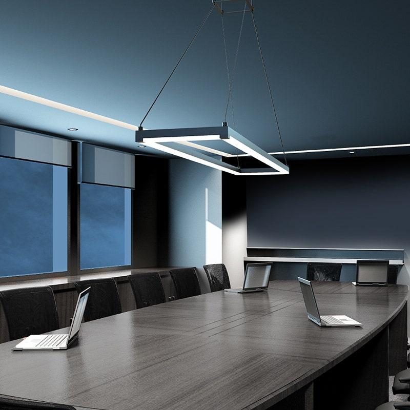 sonneman Stix Rectangle office