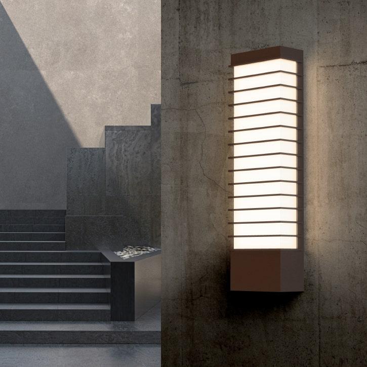 sonneman Tawa LED Sconce outdoor