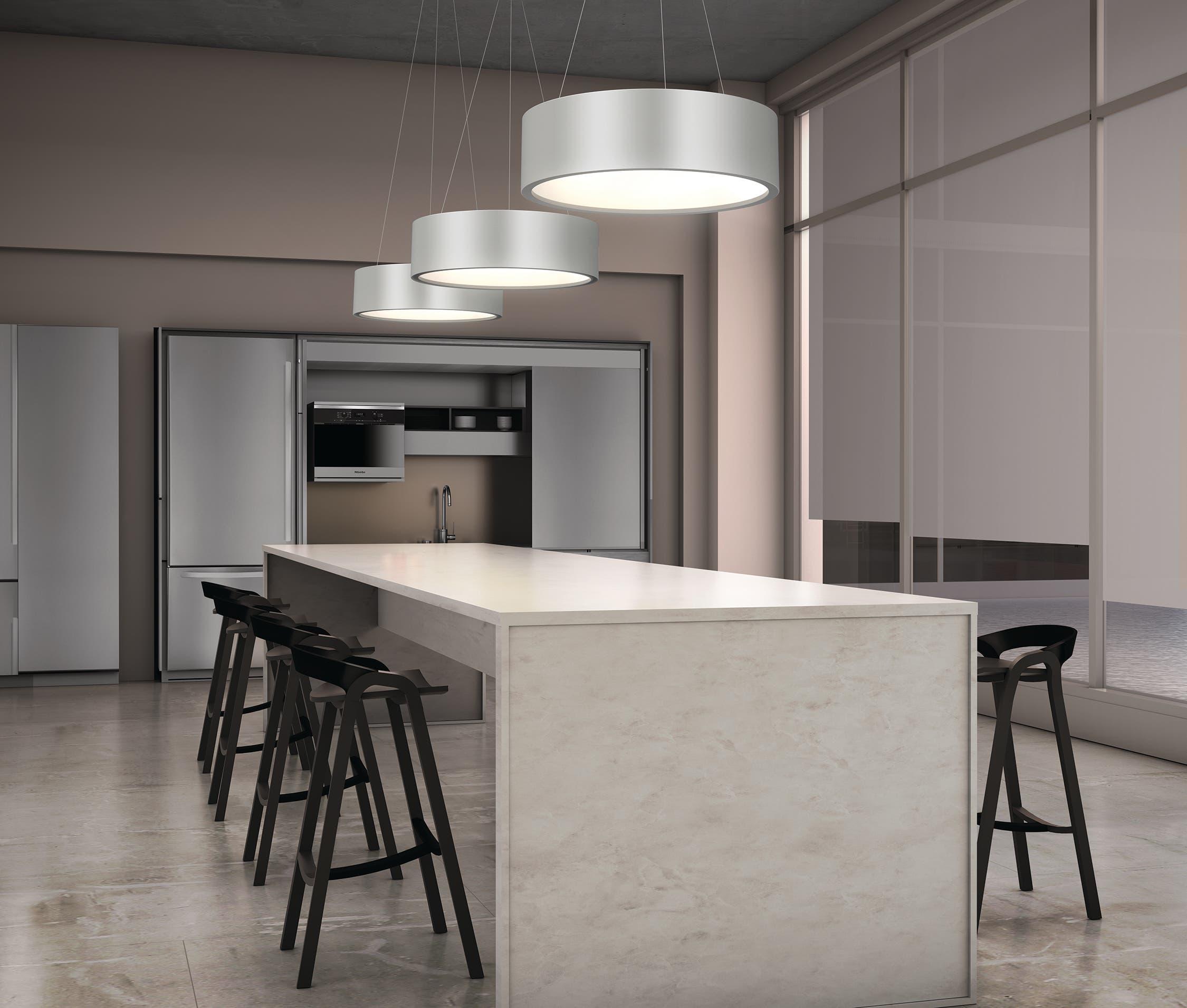 sonneman Tromme LED Pendant kitchen