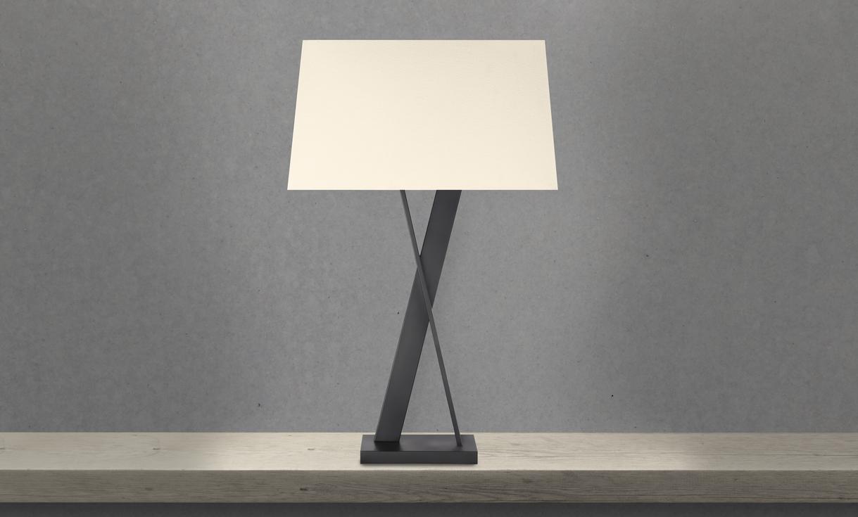 sonneman X Table Lamp bedroom