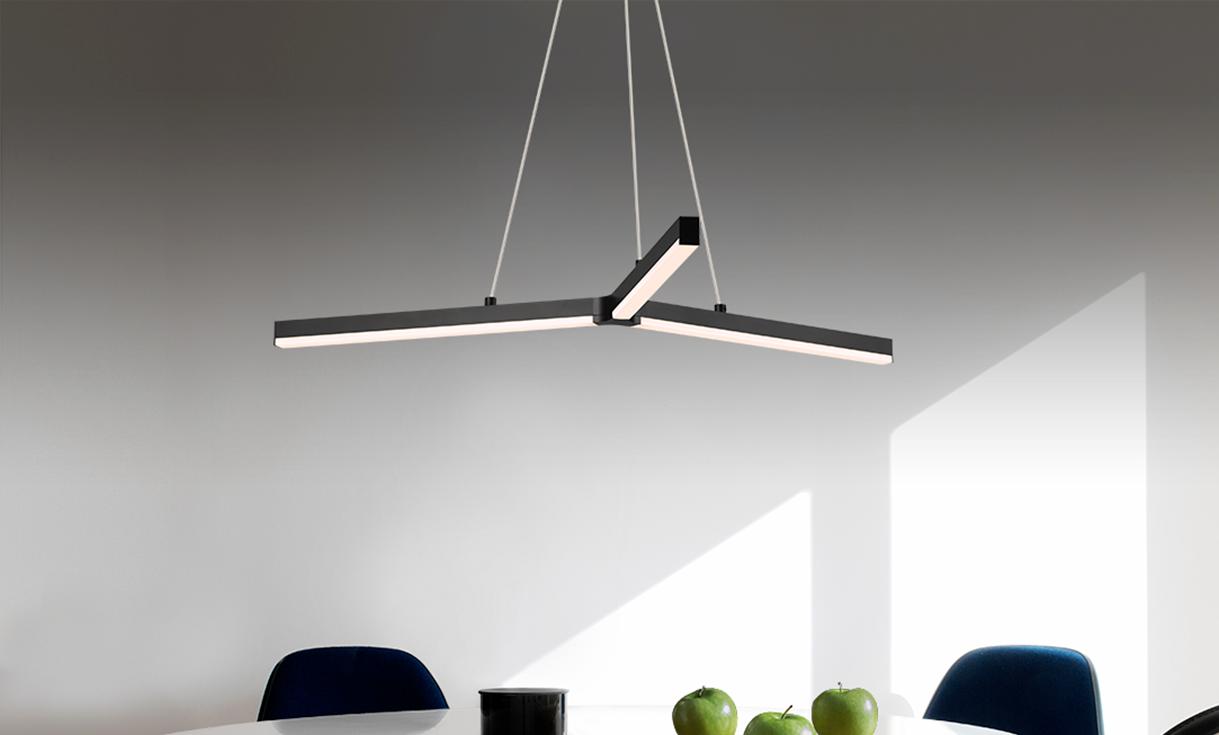 sonneman Y LED Pendant dining