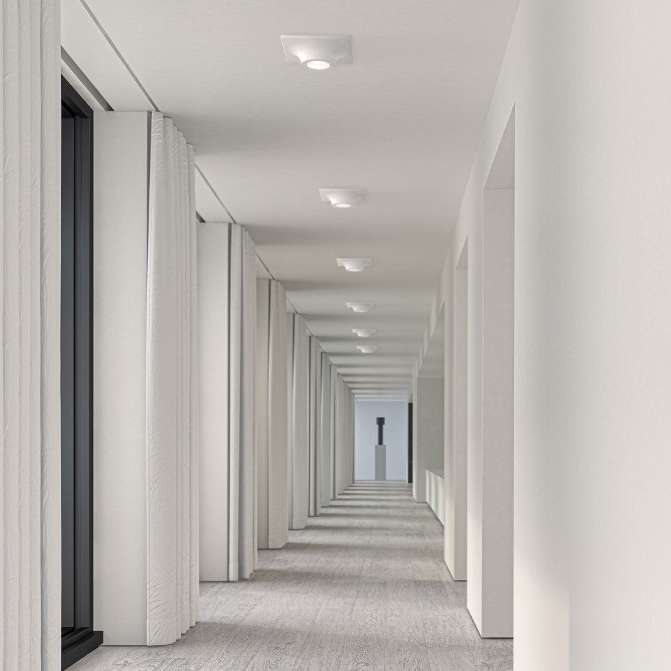 sonneman Zoom LED Surface Mount hallway